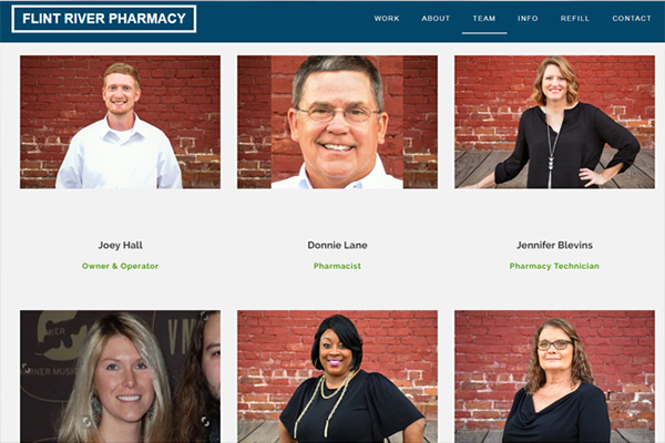 columbus ga web design pharmacy